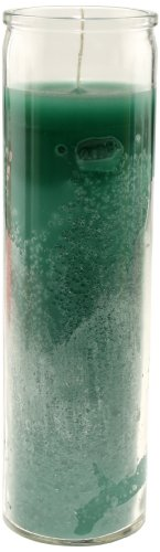 Star Candle 8-Inch Candle, Green