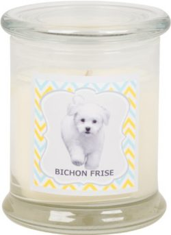 Aroma Paws Breed Candle Jar, 12-Ounce, Bichon Frise