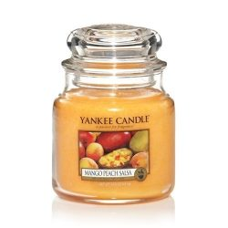 Yankee Candle Medium Jar Candle, Mango Peach Salsa