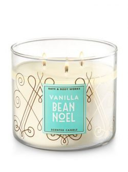 Bath and Body Works Vanilla Bean Noel 2017 Candle