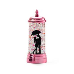 Valentine's Day Lights, LEDMOMO Glitter Flameless Candle Lights USB Rechargeable Spinning  ...