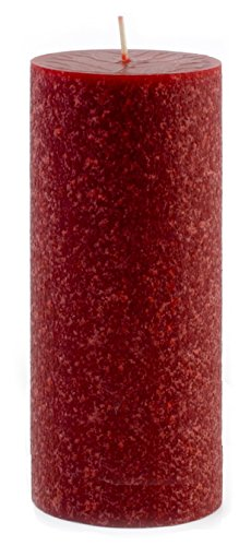 Root Scented Timberline Pillar Candle, 4 by 9-Inch, Spice Market