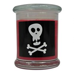 Fall Halloween Candle Poison Natural Scented Soy Wax 12oz Candle. Aromatherapy Soy Candles Burn  ...