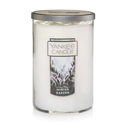 Yankee Candle Large 2-Wick Tumbler Candle, Winter Garden