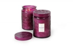 Voluspa Santiago Huckelberry Large Glass Jar Candle 100 Hour 16.00 oz