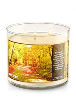 Bath & Body Works 3 Wick Candle Autumn