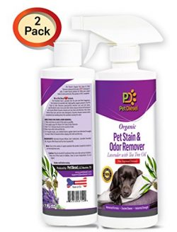 Pet Stain & Odor Spray Remover Best Organic Enzyme Cleaner For Pet Odor Elimination & Do ...
