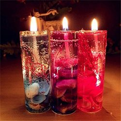Efaster Creative Ocean Candles Colorful Valentine's Day Romantic Candlelight Party Candle