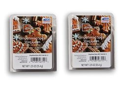 2 Pack Gingerbread Spice Scented Wax Cubes