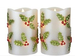 LED Candle Light Flameless Perfect Gift for Holiday Celebration Decoration Premium Quality Paten ...