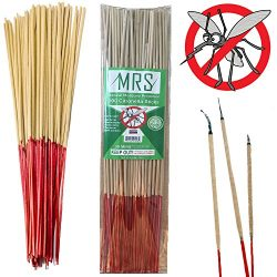 MRS Mosquito Repellent Sticks Citronella Lemongrass – 15″ Insect Repellent Incense S ...