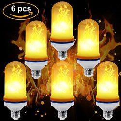 CPPSLEE – LED Flame Effect Light Bulb – E26 Standard Base – Valentine's  ...