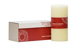 "DECOCANDLES – Cozy – Mélange of Spices & Evergreen – 3"" X 6"" – Signa ..."