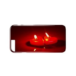 Two Red Candles Valentine Day Love 3D Full Coverage Phone Case Cover iPhone 5