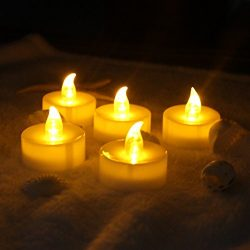 TBW LED Lighted Candles Flameless Flickering Votive Candles Valentine's LED Candle Mother& ...