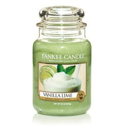 Yankee Candle Large Jar Candle, Vanilla Lime
