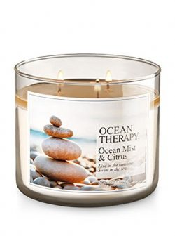 Bath & Body Works 3-Wick Candle in Ocean Therapy – Ocean Mist & Citrus