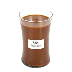 Hot Toddy WoodWick Glass Jar Scented Candle, Large 22 oz.