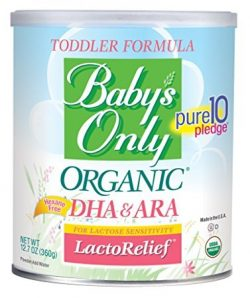 Baby's Only Organic LactoRelief with DHA & ARA Toddler Formula – Pack of 4