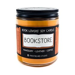 Bookstore – Book Lovers' Soy Candle – 8oz Jar