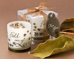 "Artisano Designs ""Fall in Love"" Tea Light Candle Holder, 4-Pack"