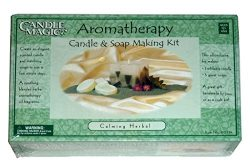 "Aromatherapy Candle & Soap Making Kit ""Calming Herbal"""