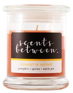 Scents Between [Dessert is Served] Signature Scents Pumpkin Spices Warm Pie Luxury 12 oz Fragran ...