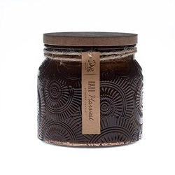 DW Home Fall Harvest 18 oz Candle Heritage Collection 2 Wick