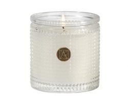 Smell of Spring 5.5 oz Textured Glass Candle by Aromatique (1)
