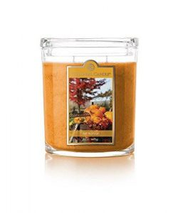 Colonial Candle Fall Festival Oval Jar Candle, 22 oz. , Yellow