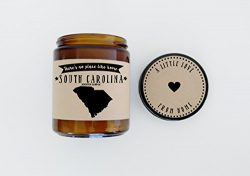 South Carolina Scented Candle Missing Home Homesick Gift Moving Gift New Home Gift No Place Like ...