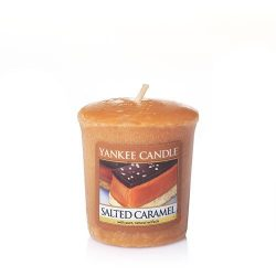 Yankee Candle Salted Caramel Samplers Votive Candle, Food & Spice Scent