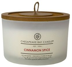 Chesapeake Bay Candle Heritage Collection Scented Candle, Cinnamon Spice, Coffee Table Jar