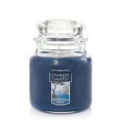 Yankee Candle Medium Jar Candle, Mediterranean Breeze