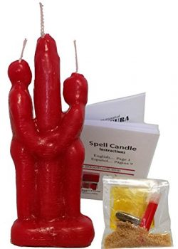Red 6″ Inch Lovers Adam & EVE Unity Couple Candle KIT – Love Ritual – Fall ...