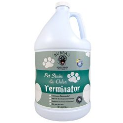 BUBBAS, Super Strength Commercial Enzyme Cleaner-Pet Odor Eliminator. Gallon Size Enzymatic Stai ...