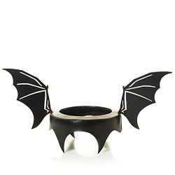 Yankee Candle Witches Ball Fanged Bat Wings Jar Candle Topper