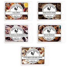 Fall Spice Variety Assorted Mix 5 Pack.100% All Natural American Farm Raised Made Paraffin-Free  ...