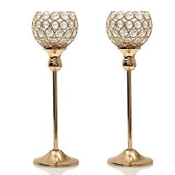 VINCIGANT Valentines Day Votive Candle Holders Pack of 2 Set for Modern Wedding Coffee Table Dec ...