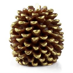 Luminara LED Flameless Candle, Flameless Real Pine Cone LED Candles for Home/Party/Halloween/Chr ...