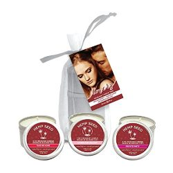 Earthly Body Valentines Day 2018 Massage Candle Trio – 2 oz