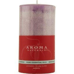 SERENITY AROMATHERAPY by Serenity Aromatherapy:ONE 2.75 X 5 inch PILLAR AROMATHERAPY CANDLE. COM ...