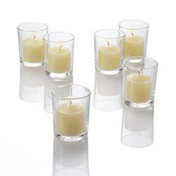Set of 72 Richland® Ivory Votive Candles and 72 Eastland® Votive Holders