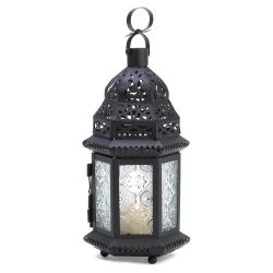 Gifts & Decor Winter Fire Candle Holder Hanging Lantern Garden Light