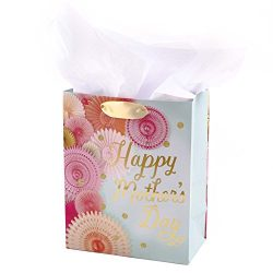 Hallmark Medium Mother's Day Gift Bag with Tissue Paper (Floral Photo)