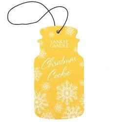 Yankee Candle Classic Car Jar Air Freshener – Christmas (Christmas Cookie)