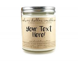 Personalized Gift 8oz Scented Candle – Custom gift for Anniversary, Birthday's or Mo ...