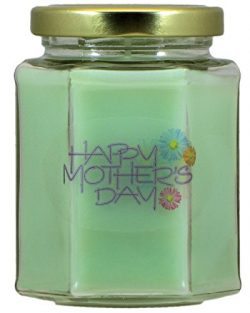 Happy Mother's Day Cucumber Melon Candle | Cucumber Melon Scented Soy Wax Candle | Hand Po ...