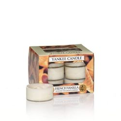 Yankee Candle French Vanilla Tea Light Candles, Food & Spice Scent