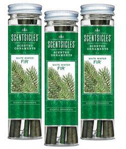 Scentsicles White Winter Fir, 6 Sticks/Bottle (Pack of 3 Bottles)